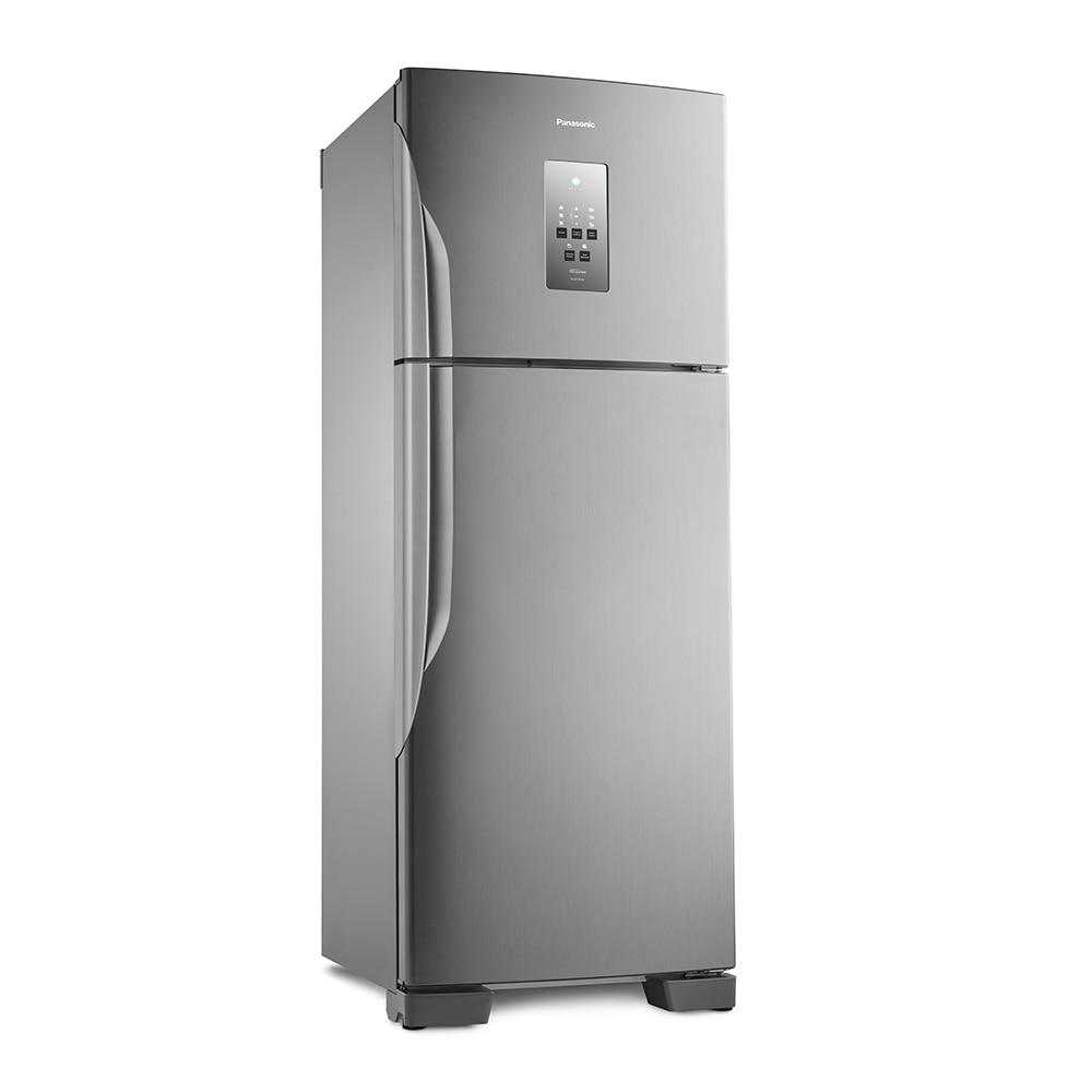 Geladeira/refrigerador 483 Litros 2 Portas Inox - Panasonic - 220v - Nr-bt55pv2xb